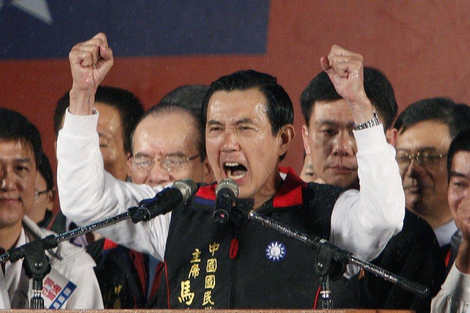 Ma  Ying-jeou, artisan du rapprochement avec la... (Photo: Wally Santana, AP)