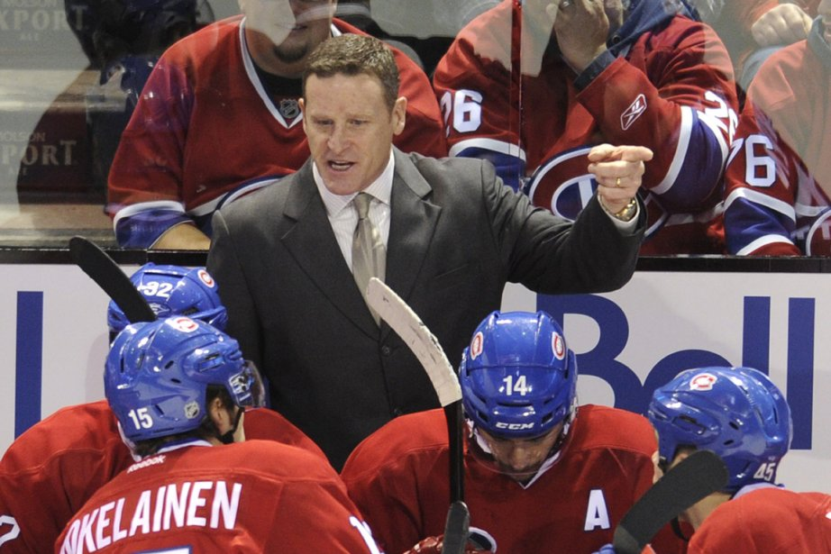 L'entraîneur-chef du Canadien, Randy Cunneyworth.... (Photo: Bernard Brault, La Presse)