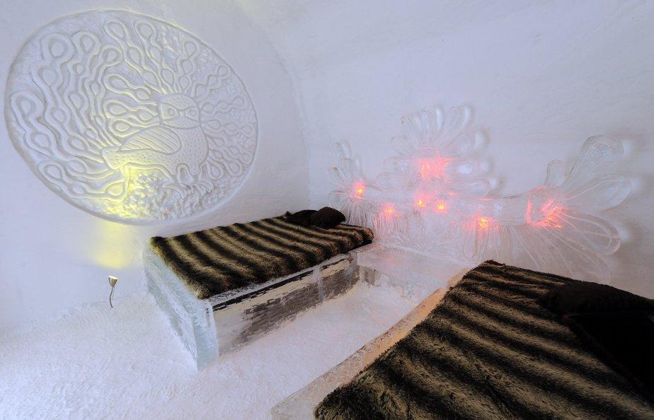 L'art inuit est à l'honneur dans cette suite baptisée «Le Hibou enchanté», dont le design est inspiré d'une gravure célèbre de 1960. | 15 janvier 2012