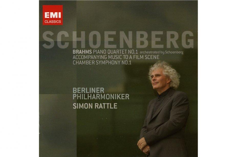 Schoenberg: orchestre philarmonique de Berlin. Dir. Sir Simon...