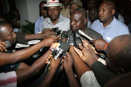 «La réunion n'est pas dans une impasse, mais... (Photo: AFP)