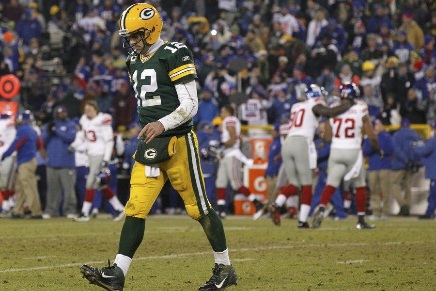 Aaron Rodgers et les Packers n'auront pas l'occasion... (Photo: AP)