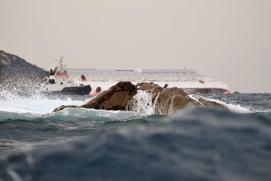 Sur la photo, un rocher qui serait à... (Photo: AFP)