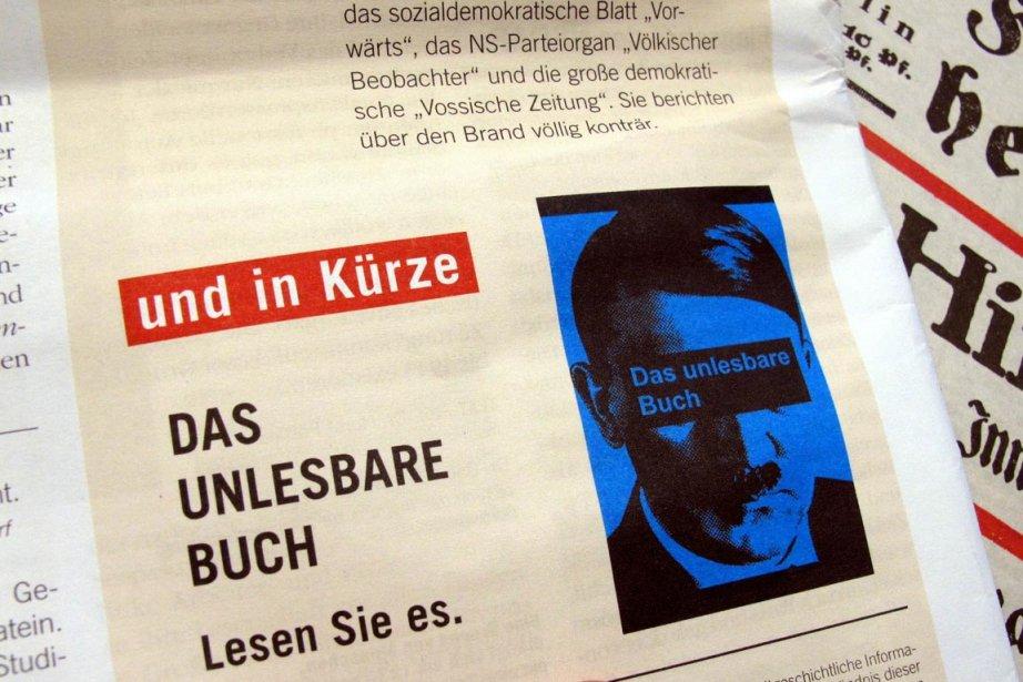 La page couverture prévue pour les «brochures» Mein... (Photo: STEPHAN JANSEN, AFP)
