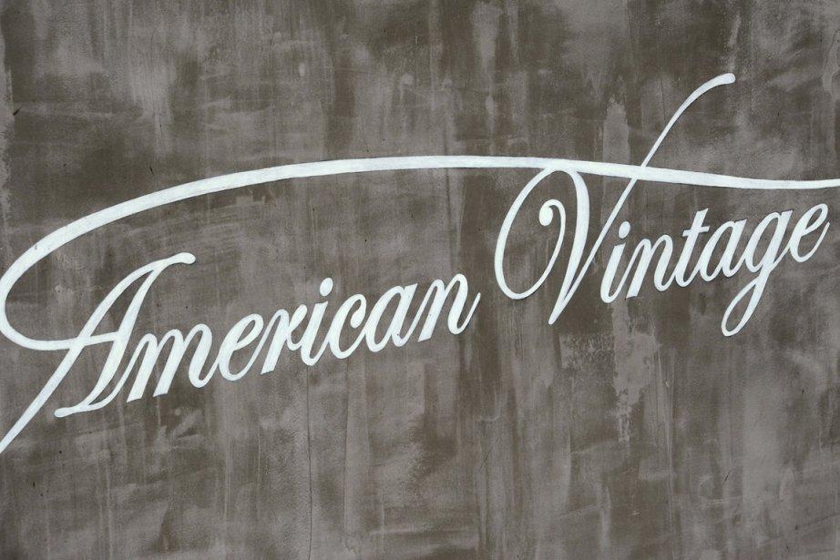 Le logo de la marque American Vintage... (Photo: AFP)