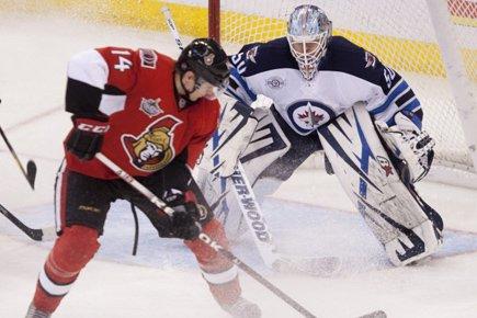 Chris Mason a stoppé les 25 lancers des Sénateurs d'Ottawa pour... (Photo: PC)