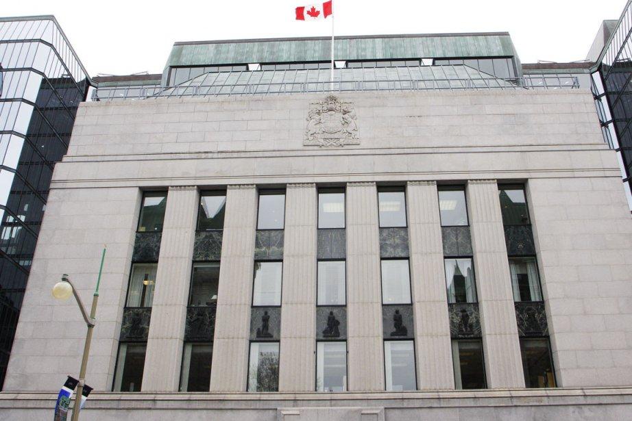 Sans grande surprise, la Banque du Canada garde... (Photo Étienne Ranger, Le Droit)