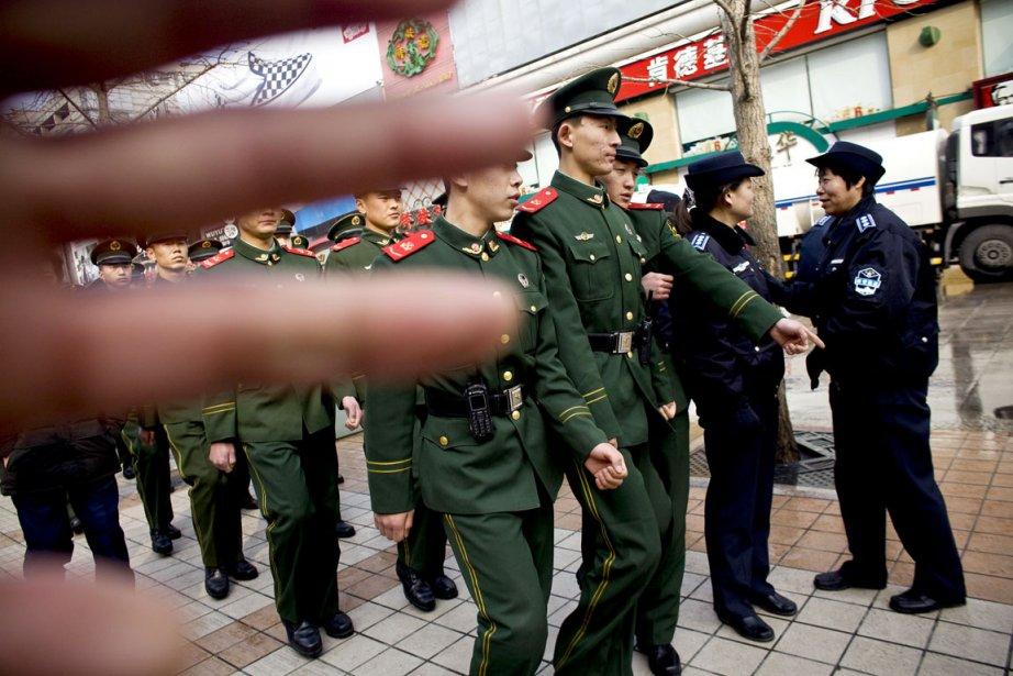 Zhu Yufu n'en est pas à ses premiers... (Photo: Shiho Fukada/The New York Times)