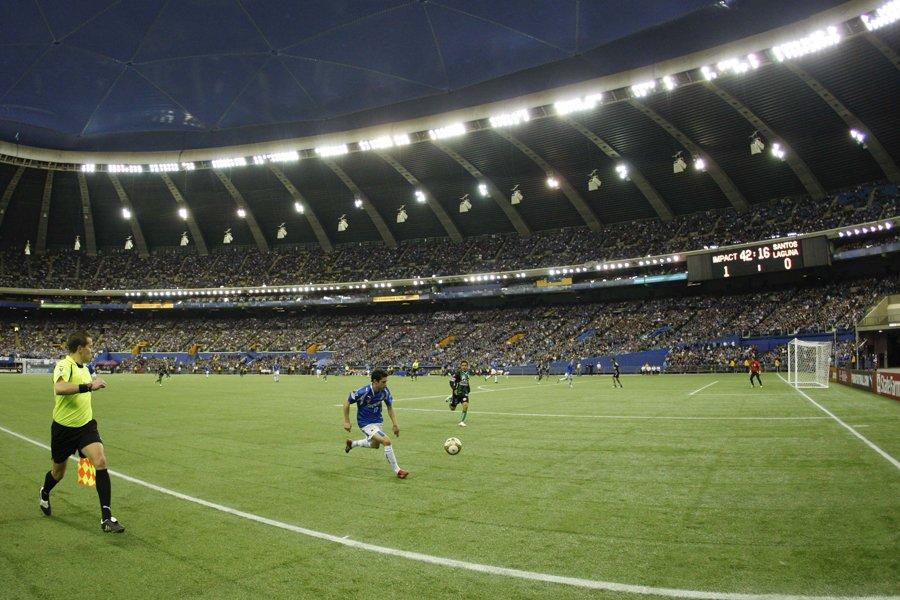 L'Impact avait disputé un match de la Ligue... (Photo: André Pichette, archives La Presse)
