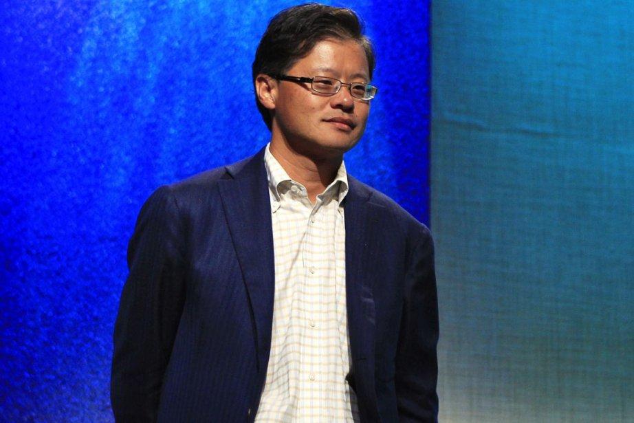 Jerry Yang a fondé Yahoo! avec David Filo... (Photo: Lucas Jackson, Reuters)