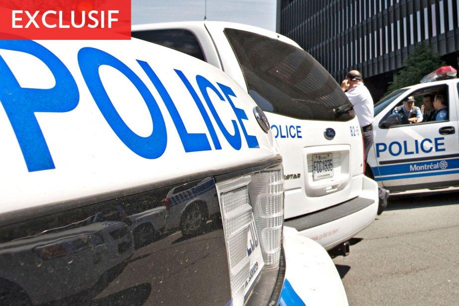 La police de Montréal n'y croyait tout... (Photo: Patrick Sanfaçon, La Presse)