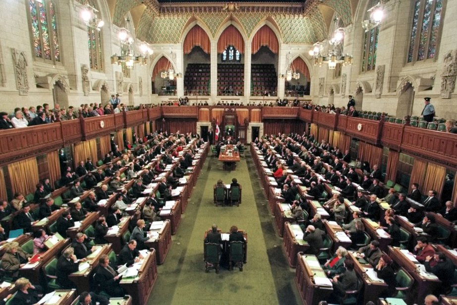 La Chambre des Communes à Ottawa.... (Photo: Archives Reuters)
