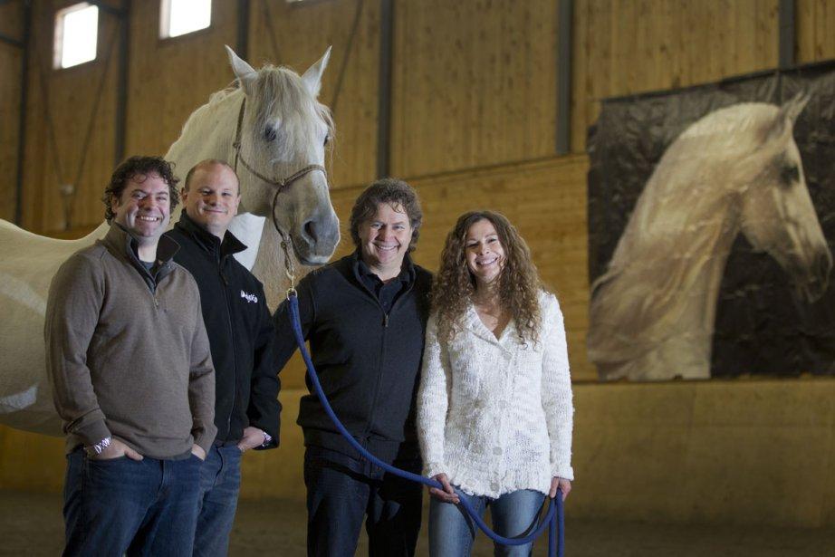 Normand Latourelle, président-fondateur et directeur artistique de Cavalia,... (Photo: Ivanoh Demers, La Presse)