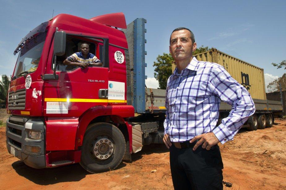 Fernando Barbosa, directeur de la firme Mercator Transport... (Photo Robert Skinner, La Presse)