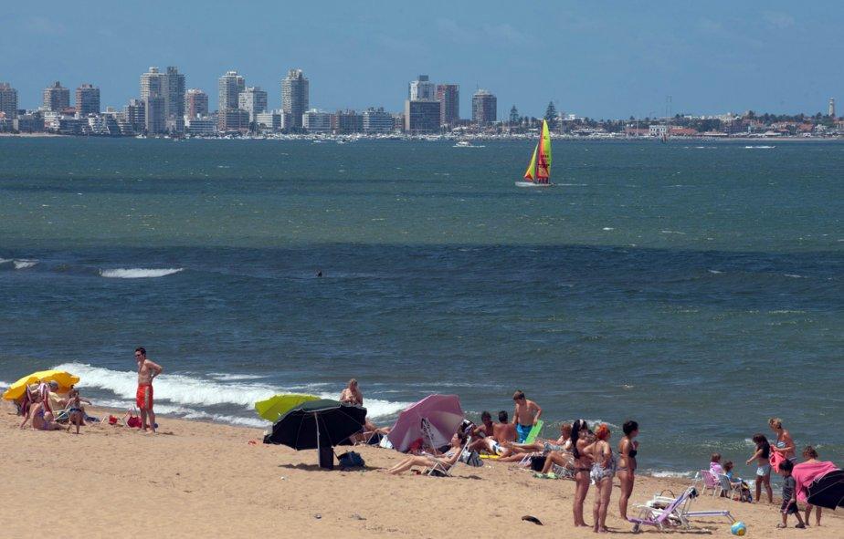 Punta del Este,  principale station balnéaire d'Uruguay... (Photo: AFP)