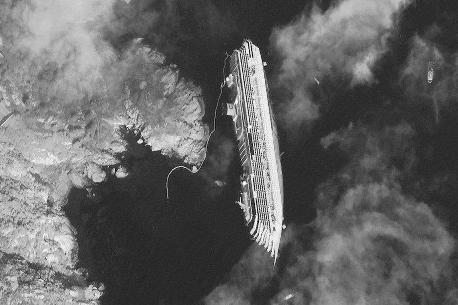 Une photo prise par satellite montre le luxueux... (Photo: AP)