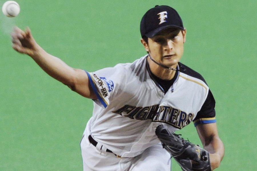 Le lanceur japonais Yu Darvish a montré un... (Photo: AP)
