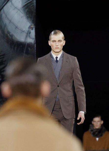 Défilé de Vuitton pour homme à Paris... | 2012-01-19 00:00:00.000