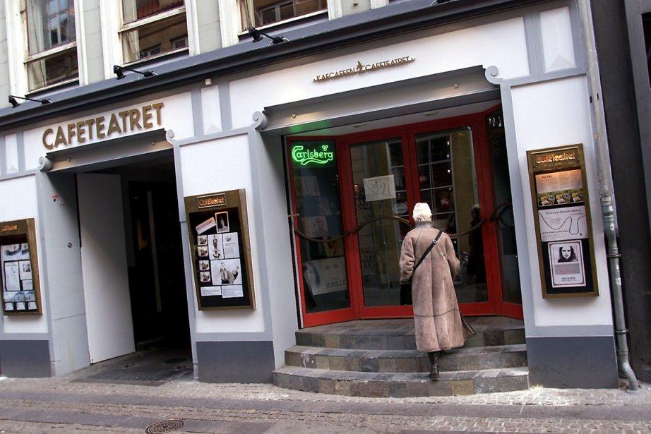 Le directeur artistique du Café Teatret Christian Lollike... (Photo: Jorgen Jessen, AFP)