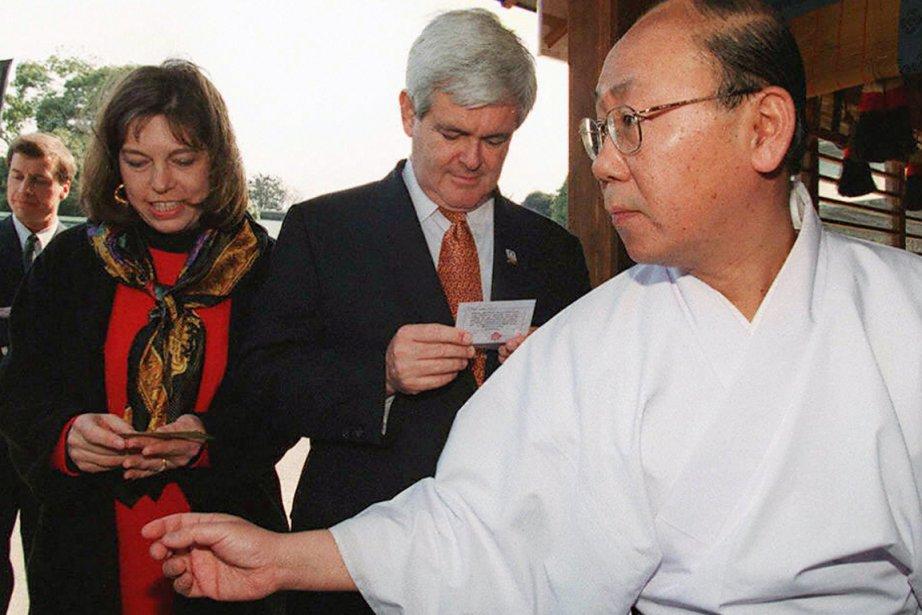 L'ex-président de la Chambre des représentants Newt Gingrich... (Photo: Toru Yamanaka, Archives AFP)