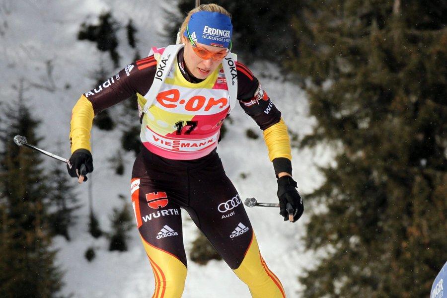 Magdalena Neuner... (Photo: AP)