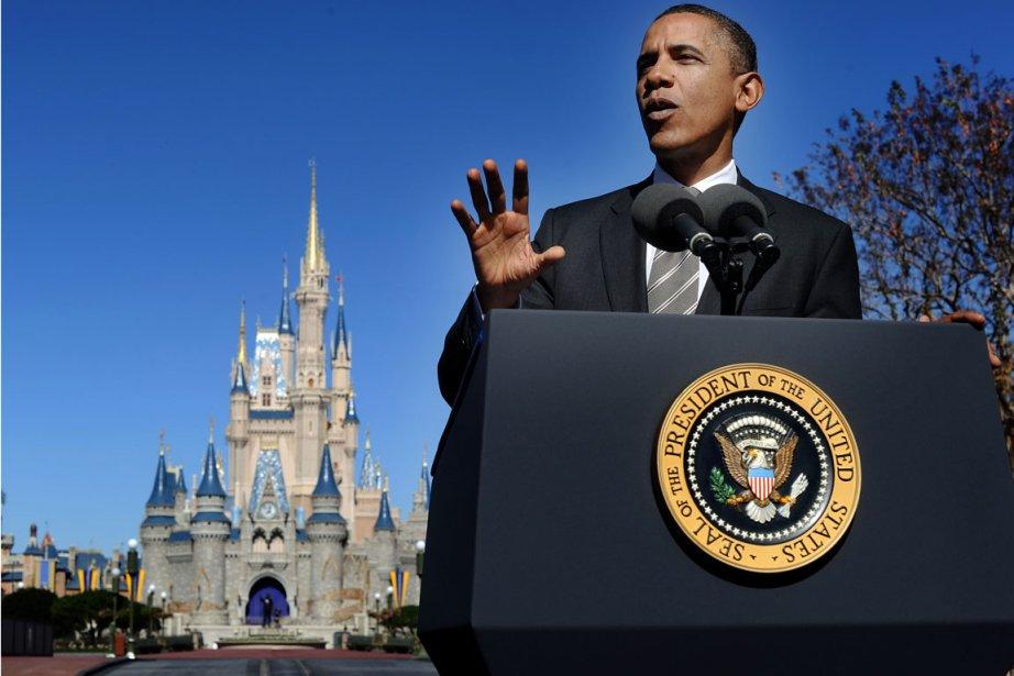 Au nom de la relance de l'emploi, le président Obama a fixé jeudi... (AFP)