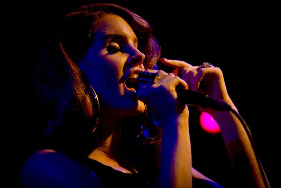 La chanteuse Lana Del Rey lancera son premier... (Photo: Koen Van Weel, AFP)