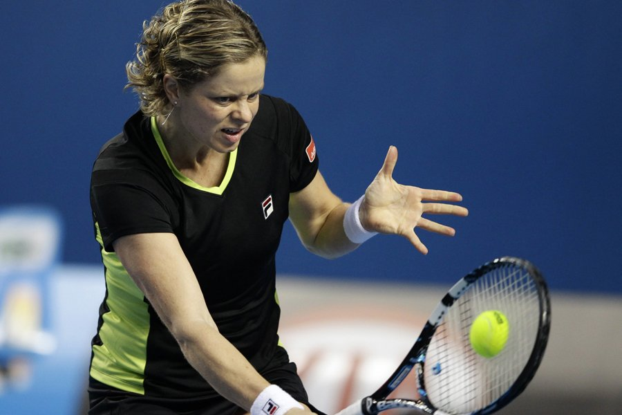 Kim Clijsters sera de retour à Miami, à... (Photo: AP)