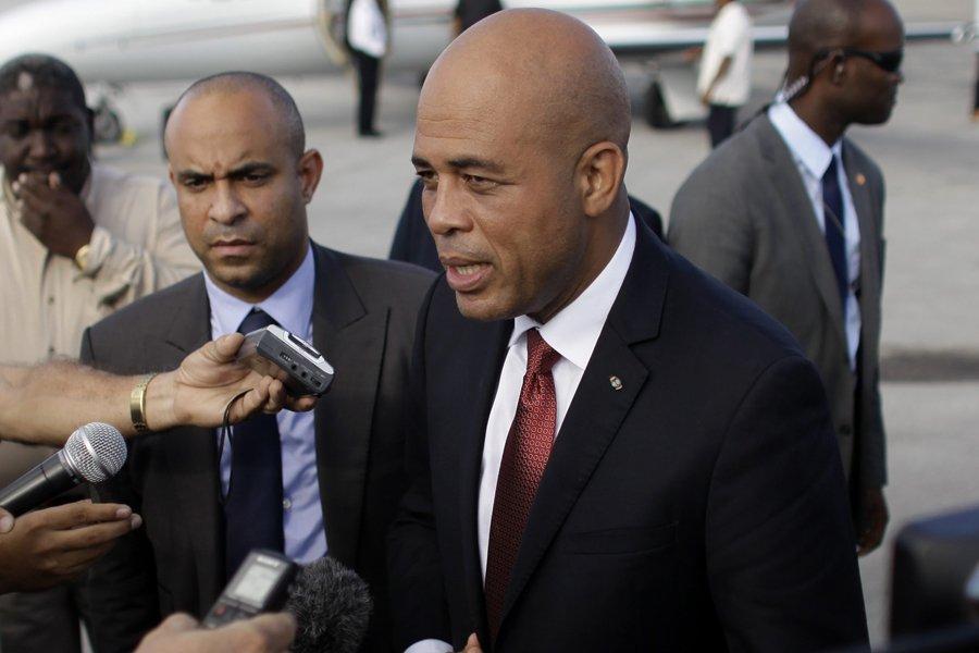 Le président haïtien Michel Martelly.... (Photo: AP)