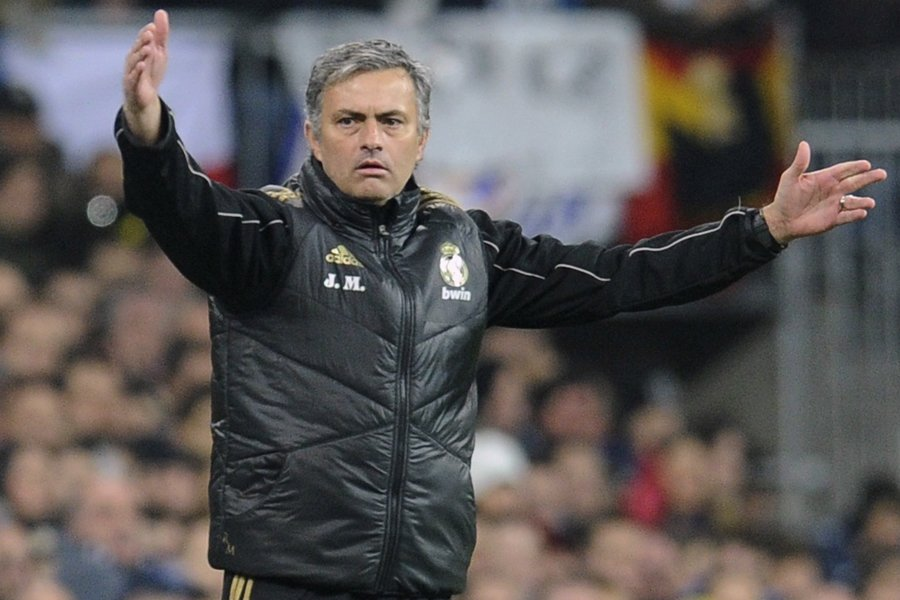 L'entraîneur du Real Madrid, Jose Mourinho, a été... (Photo: Reuters)