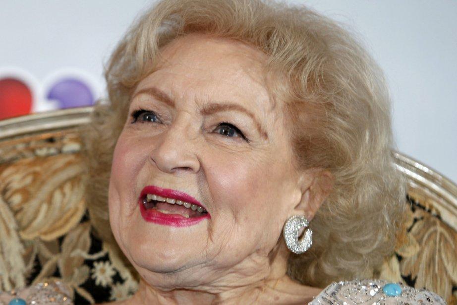 Betty White a célébré lundi dernier ses 90... (Photo: Reuters)