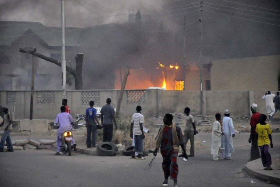 Selon la police, à Kano, ce sont huit... (Photo: Reuters)