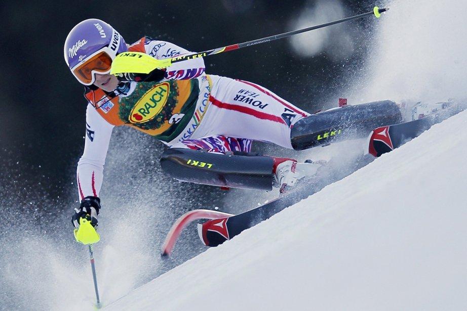 Michaela Kirchgasser... (Photo Reuters)