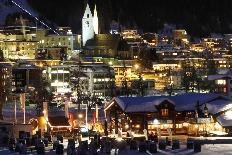 Davos... (Photo Reuters)