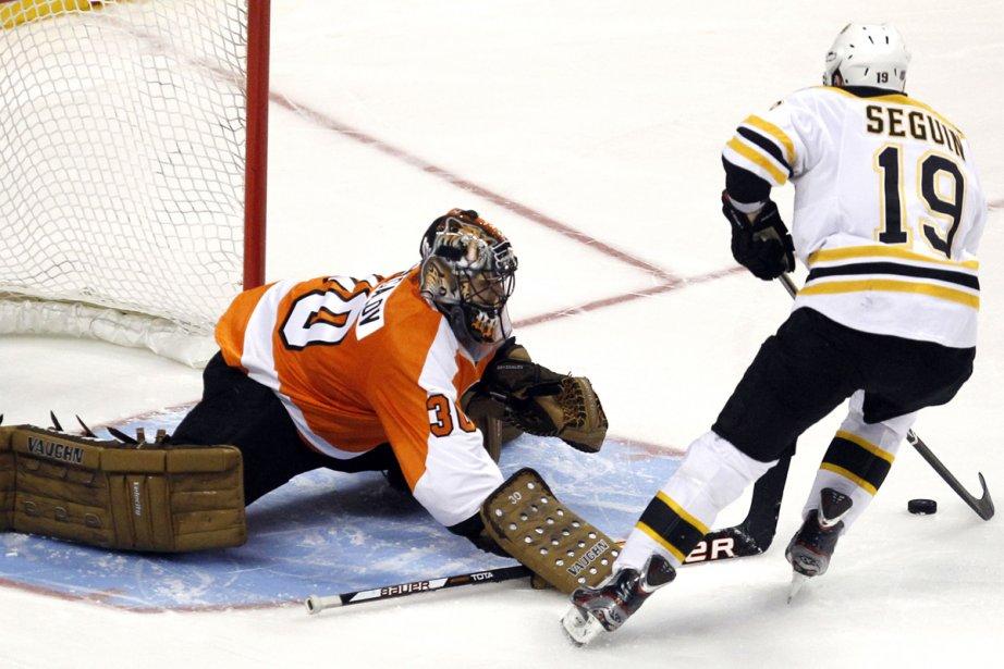 Tyler Seguin a marqué le but gagnant en... (Photo: Tim Shaffer, Reuters)