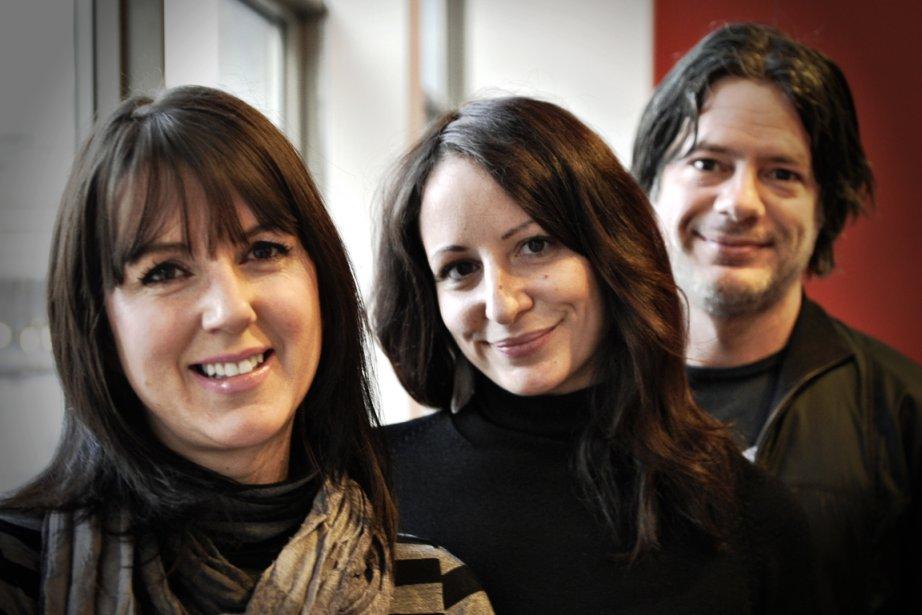 Tara Hunt, Cassandra Girard et Jérôme Paradis, fondateurs... (Photo Bernard Brault, La Presse)