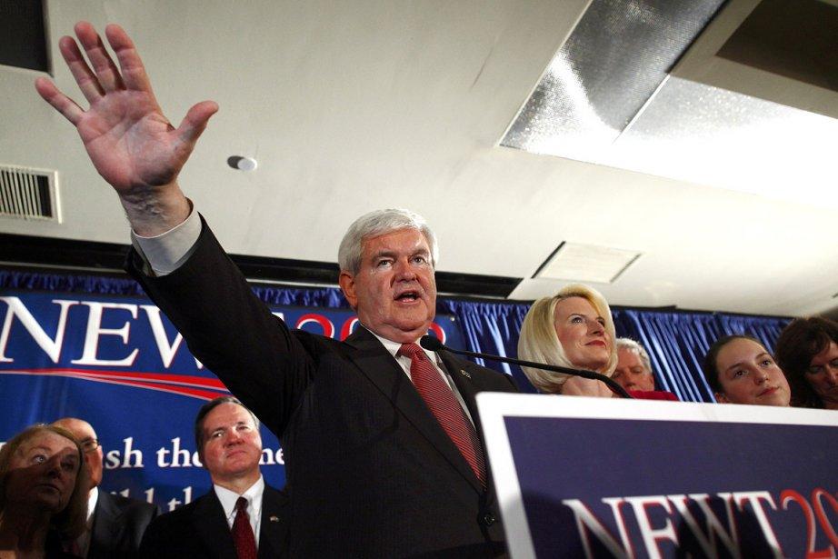 Newt Gingrich, candidat dans la course à l'investiture... (Photo: Reuters)