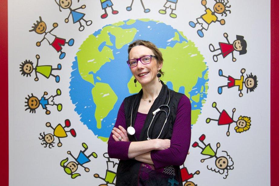 Dre Anne-Laure Lapeyraque... (Photo: Alain Roberge, La Presse)
