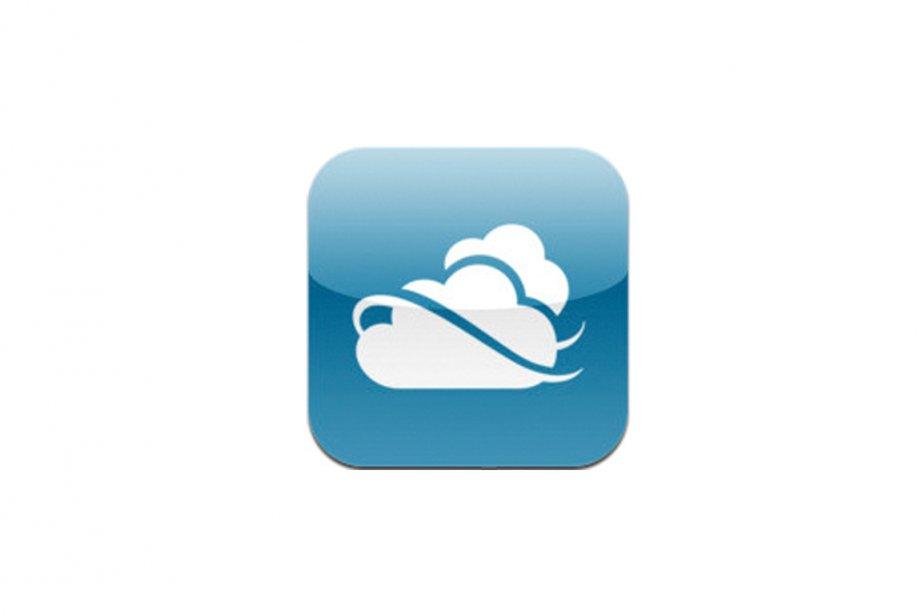 Le nuage de Microsoft sur l'iPhone....