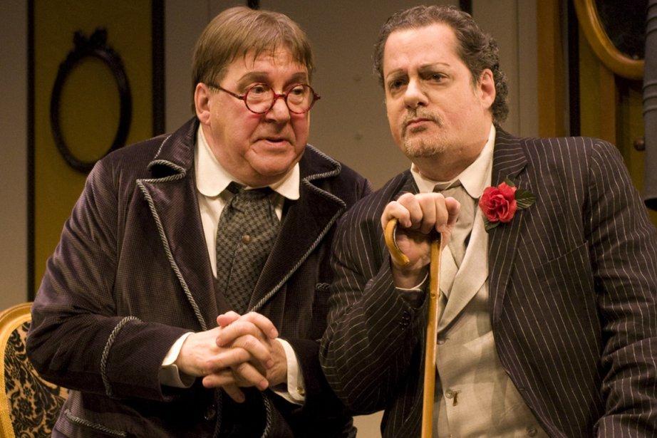 Rémy Girard et Alain Zouvi.... (Photo fournie par la production)