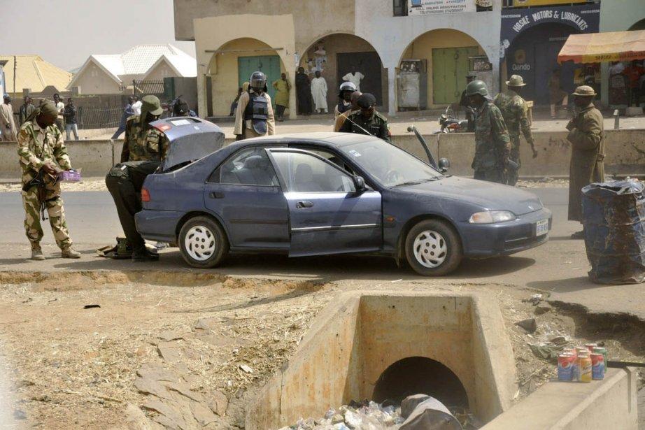 «Nous avons découvert huit voitures remplies d'explosifs dans... (Photo: Reuters)