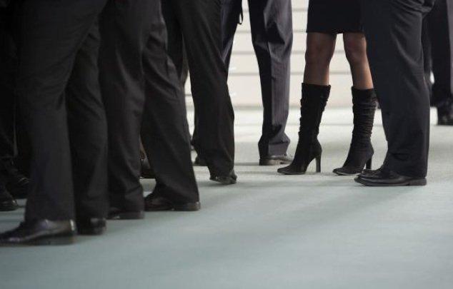 Les femmes dirigeants gagnent 22% de moins que les hommes en... (Photo AFP)