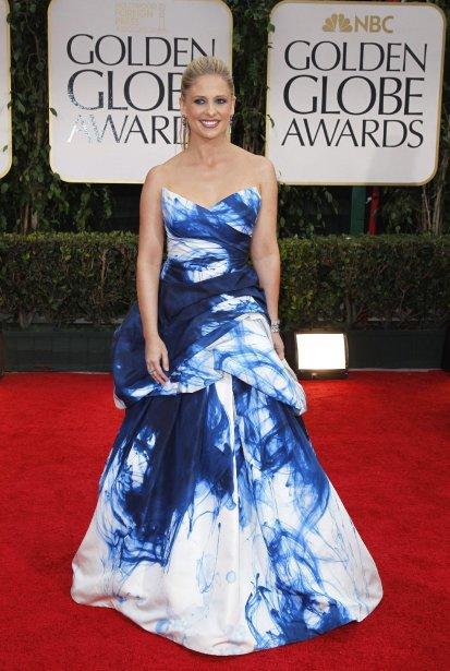 Dans la catégorie le top des flops: Sarah Michelle Gellar | 24 janvier 2012
