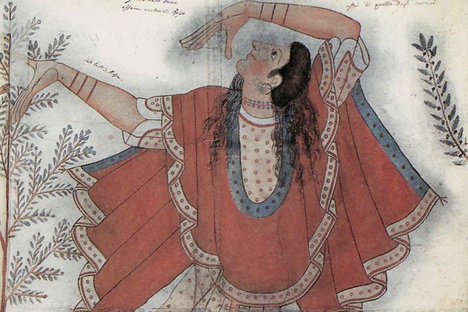Civilisation de l'Italie ancienne. Dessin relevé par Carlo... (Photo fournie par le Musée de la Pointe-à-Callière)