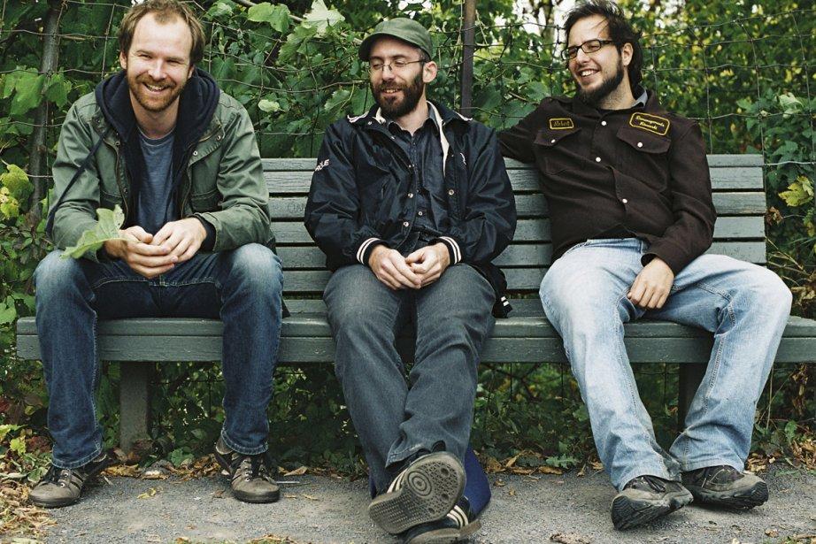 Les trois membres du groupe Avec pas d'casque:... (Photo fournie par la production)