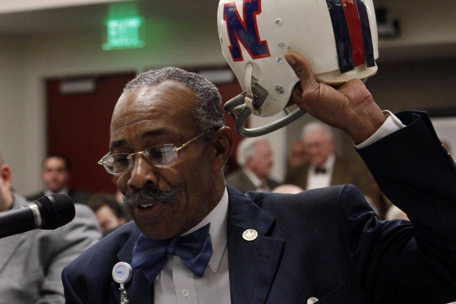 Des anciens joueurs de la NFL ont intenté... (Photo: AP)