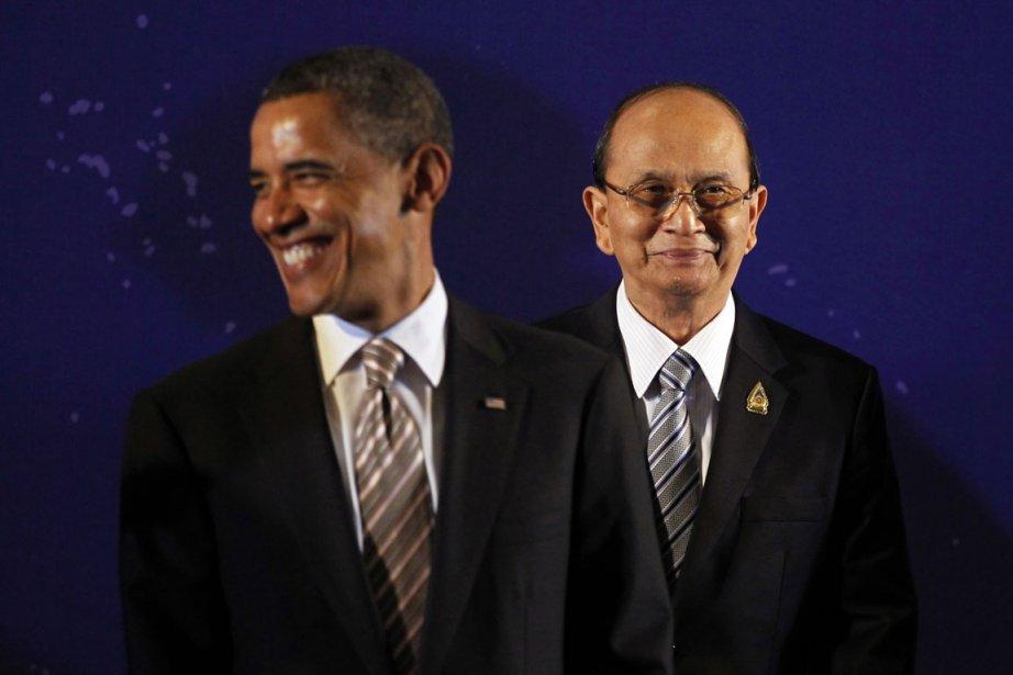 Le président de la Birmanie, Thein Sein, a... (Photo Reuters)