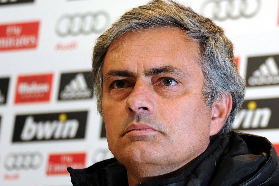 L'entraîneur du Real Madrid, José Mourinho.... (Photo: AFP)