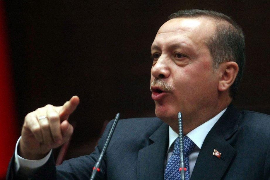 Le premier ministre turc Recep Tayyip Erdogan a... (Photo AFP)