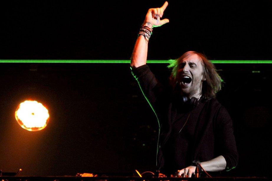 David Guetta... (Photo AP)